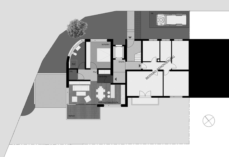 An und umbau eines doppelhaus studio architektur salem for Doppelhaus moderne architektur